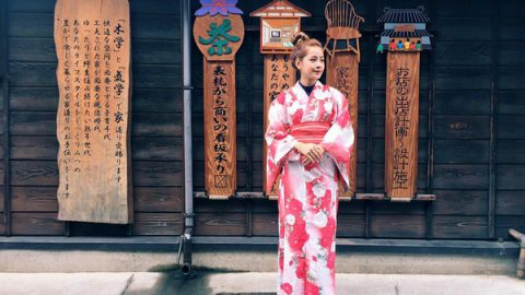 Cách đi đứng và ngồi khi diện kimono truyền thống Nhật Bản