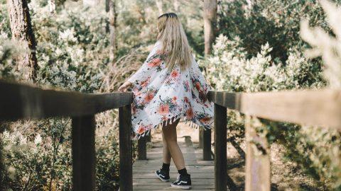 Công thức mặc áo khoác kimono haori cực chất và đầy xinh đẹp