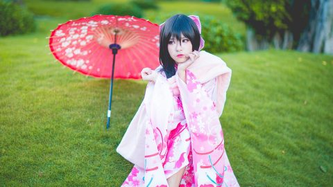 Bí quyết trang điểm cực xinh khi mặc kimono Nhật Bản
