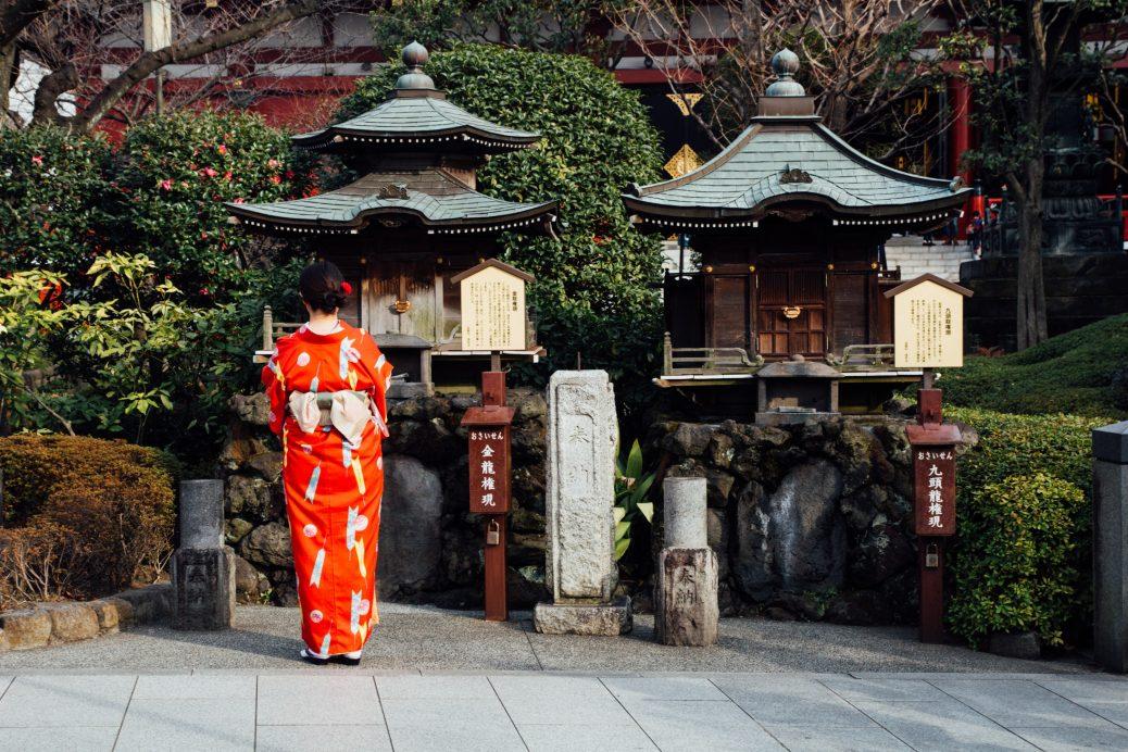 cach may kimono nhat ban