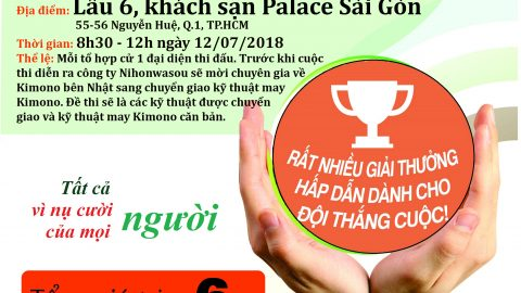 THÔNG BÁO VỀ CUỘC THI TAY NGHỀ KIMONO – WASAI NTC CUP