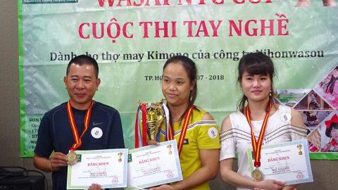 THÔNG BÁO CUỘC THI WASAI NTC CUP LẦN 2
