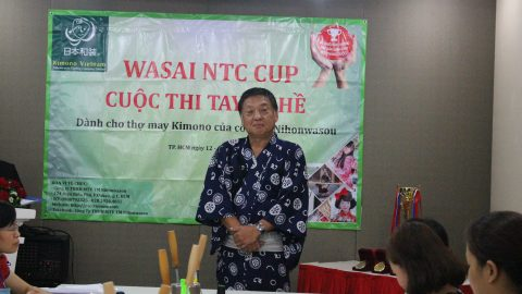 KHAI MẠC CUỘC THI TAY NGHỀ KIMONO – WASAI NTC CUP