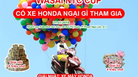 NỘI DUNG BÀI THI ÁO NAGAJUBAN – WASAI NTC CUP 2019