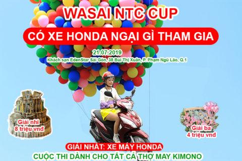 NỘI DUNG BÀI THI ÁO 1 LỚP – WASAI NTC CUP 2019